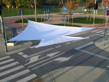 Sonnensegel 4x4x4 Meter